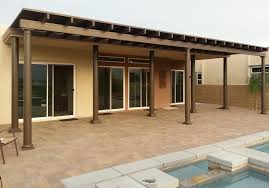 solid roof patio cover plans. Delighful Plans Full Roof Solid Patio Cover With Fiberglass Polls La Quinta CA For Plans A