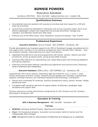 Template Executive Administrative Assistant Resume Sample Monster