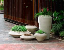 crescent garden planters. Daniel Family Of Planters Crescent Garden