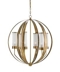 currey company lighting fixtures. Magnifying Glass Image Shown In Antique Brass Finish Currey Company Lighting Fixtures
