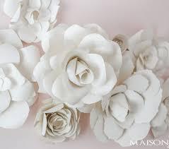 paper wall flowers diy giant paper flowers tutorial maison de pax dresses with flowers