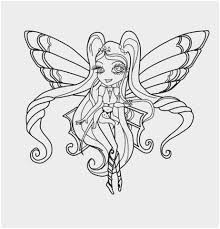 Winx Coloring Pages Great Chibi Stella Enchantix Coloring Page