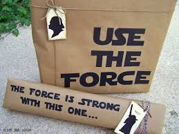may the 4th be with you star wars gift wrap