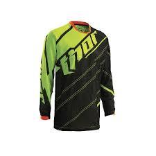jerseys mx enduro thor s6 phase vented doppler jersey black green