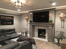 Rec room lighting Fancy Lighting Is Your Best Friend When Designing The Perfect Rec Room All Kinds Should Be Considered From Recessed Led To Wellplaced Ambient Lamps Pinterest Designing Rec Room Throw Yourself Into It Eileen Gould Design