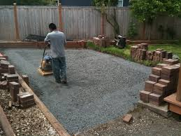 easiest way to install paver patio patio ideas how to make a paver patio
