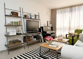 prop diy ladder shelf small living