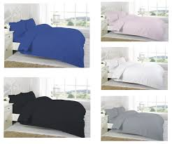100 natural egyptian cotton duvet cover with pillow cases quilt cover bed set
