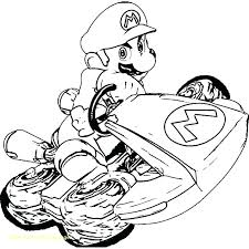 Mario Kart Coloring Page Coloring Page Kart Video Games Printable