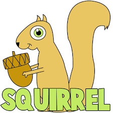 Small Picture How to Draw Cartoon Squirrels in Simple Steps Drawing Tutorial