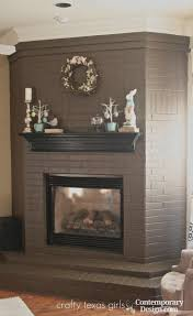 fireplace paint awesome best color to paint brick fireplace