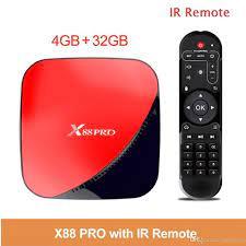 Android TV Box X88 PRO Ram 4GB Rom 32GB RK3318 Android 9.0 - X88 PRO 4+32G,  giá chỉ 700,000đ! Mua ngay kẻo hết!