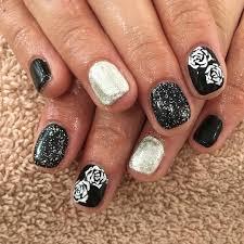 White Rose Nail Design 1000 Ideas About Rose Nail Design On Pinterest Rose Nail Art