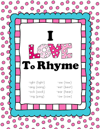 Image result for rhyming day