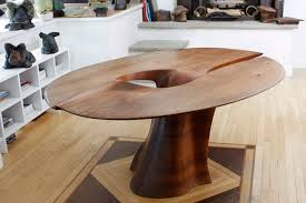 dining table 1966 by wendell castle walnut 30 x 58