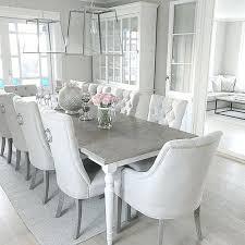 white dining room table chairs custom romantic minimalist furniture ikea