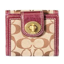 Coach Legacy Signature Turnlock Wallet