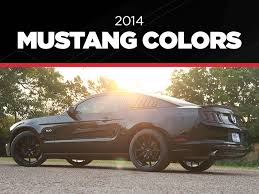 2014 Mustang Colors Color Codes Photos Lmr Com