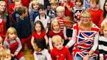 Westville House children celebrate British values