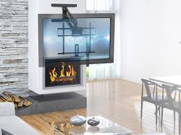 contemporary pull mono above fireplace pulldown fullmotion articulating tv wall mount bracket for and pull down tv c