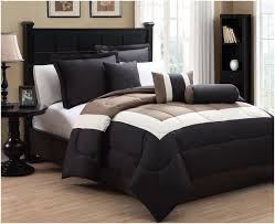 quilt bedding sets astounding 10 piece king tranquil black and taupe bed in a bag w