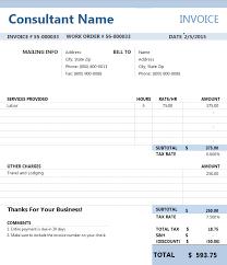 Consulting Invoices - Kleo.beachfix.co