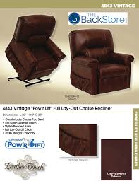 catnapper recliner chiar features