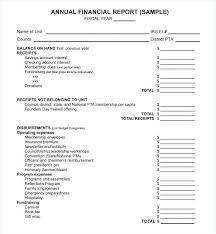 Monthly Financial Report Template Ppt Annual Statement Thaimail Co