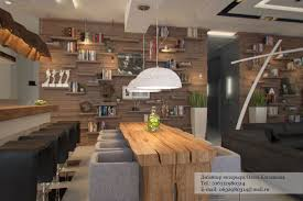 Small Kitchen For Studio Apartment Small Modern Rustic Studio Apartment Interior Lighting Decorating