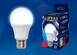 <b>Лампа</b> светодиодная <b>Uniel LED</b>-<b>A60</b> 16W/<b>4000K</b>/<b>E27</b>/<b>FR</b> — купить ...