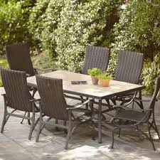 hton bay patio furniture cushions elegant 8 seat outdoor dining table awesome hton bay patio dining