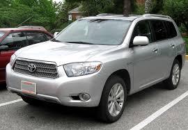 File:2nd Toyota Highlander Hybrid Limited.jpg - Wikimedia Commons
