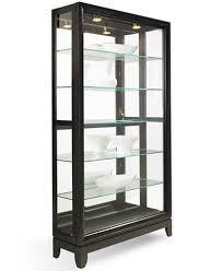 dual furniture. drake dualslide contemporary curio cabinet furniture dual