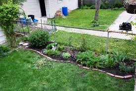 back to brick edging ideas of lawn and trees