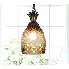 pineapple light fixtures fixture for lighting pertaining to designs 17