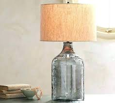 fillable lamp base uk clear glass australia marvelous lighting winsome table bedroom best lamps ideas on