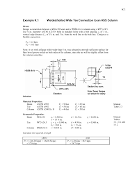 Hss Beam Design Example Chapter K Design Of Hss And Box Member Connections Pages 1