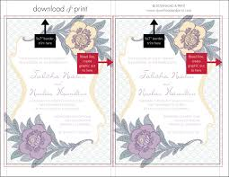 5x7 border template 5 tips to diy your wedding invitations