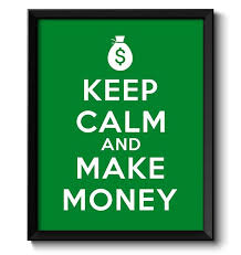 How To Make A Keep Calm Poster Keep Calm Poster Keep Calm And Make Money Green White Art Print Wall Decor Custom Stay Calm Poster Quote Inspirational Motivational