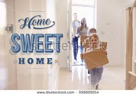 Image result for pictures of home owners walking into new home