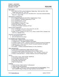 Aircraft Technician Resume Sample Convincing Design And Layout For Aircraft Mechanic Resume 11