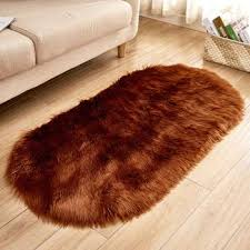 40 60cm soft artificial sheepskin rug chair cover bedroom