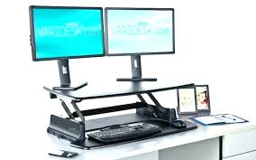 table top stand up desk t making