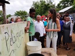 Resultado de imagen para reina letizia en republica dominicana