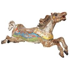 c w parker company carousel horse for
