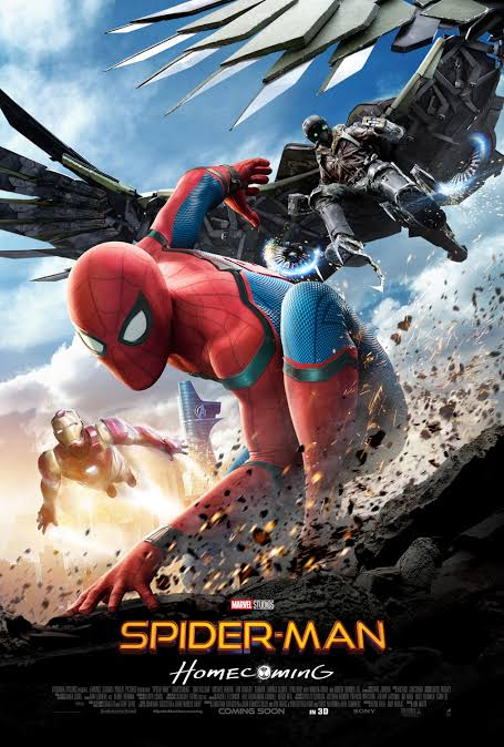 Spider-Man Homecoming 2017 Dual Audio ORG Hindi BluRay 400MB 480p