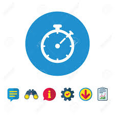 Download Timer Timer Sign Icon Stopwatch Symbol Information Report And Speech