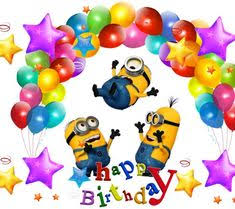 28 Best Happy Birthday Minions Images In 2019 Bday Cards Birthday