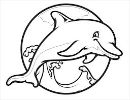 Small Picture Printable Dolphin Pictures Dolphin Free Printable Coloring