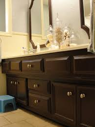 Espresso Painted Cabinets Picture Collection Paint Bathroom Cabinets Espresso Bathroom